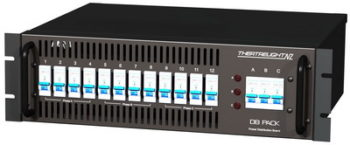 Theatrelight DB Pack 12 x 10A Power Distribution Rack DB pack 1210