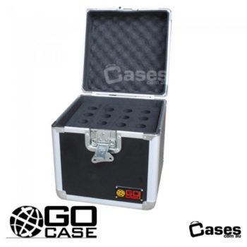 READY MADE 16 MIC CASE WITH ACCESSORY STORAGE GOMIC16