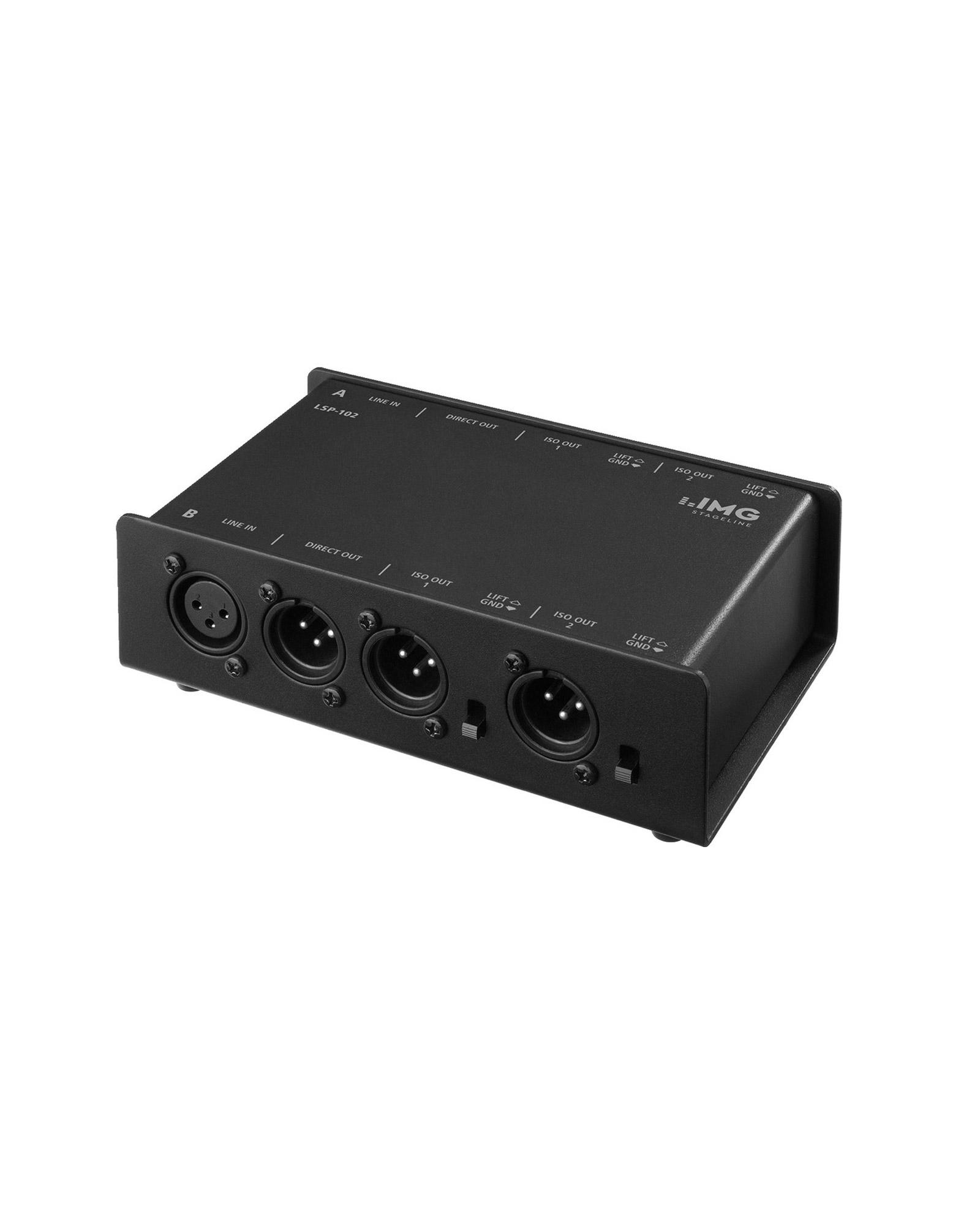 Audio Line Splitter Img Lsp 102