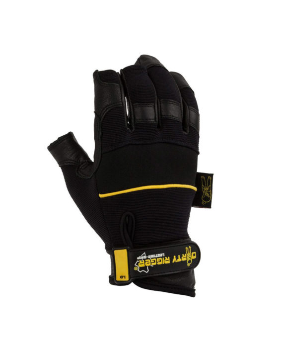 Dirty Rigger Glove Dty Lfrm Leather Grip™ Framer Glove