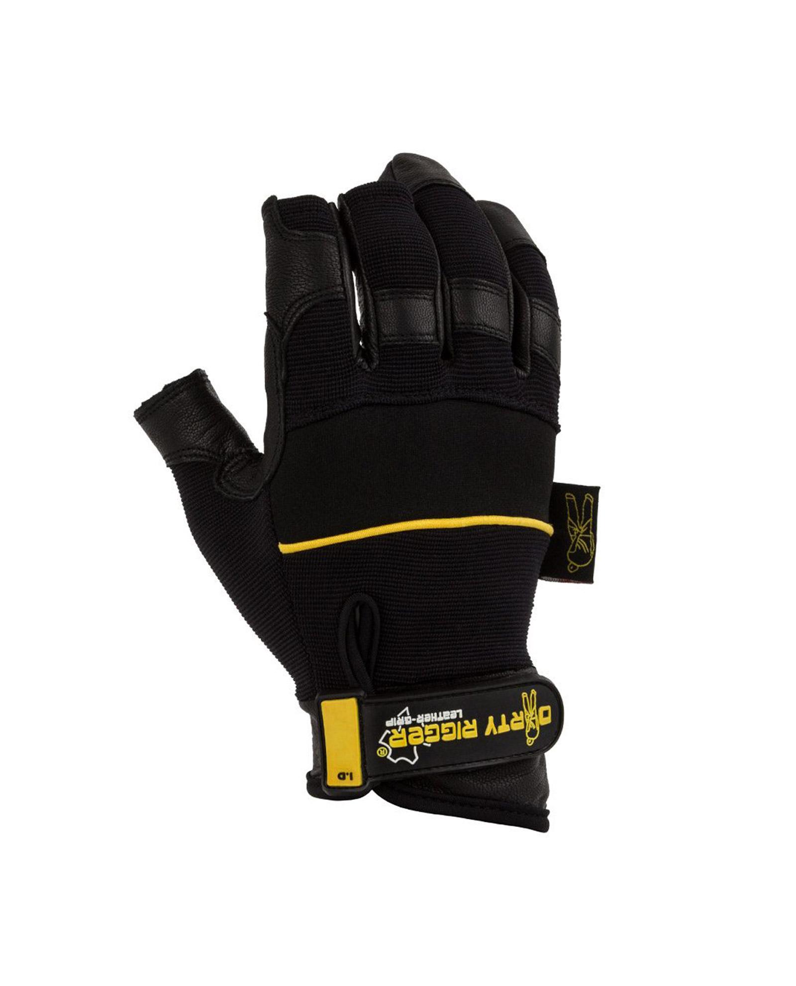 Dirty Rigger Glove Dty Lfrm Leather Grip Framer Glove