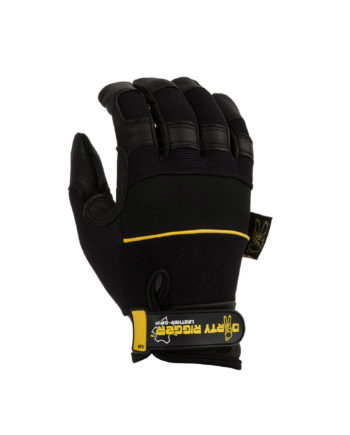 Dirty Rigger Glove Dty Lgrip Leather Grip™ Full Handed Glove