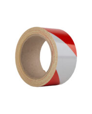 Le Mark Reflective Hazard Tape Black And Yellow Red And White 50mm X 10m 1