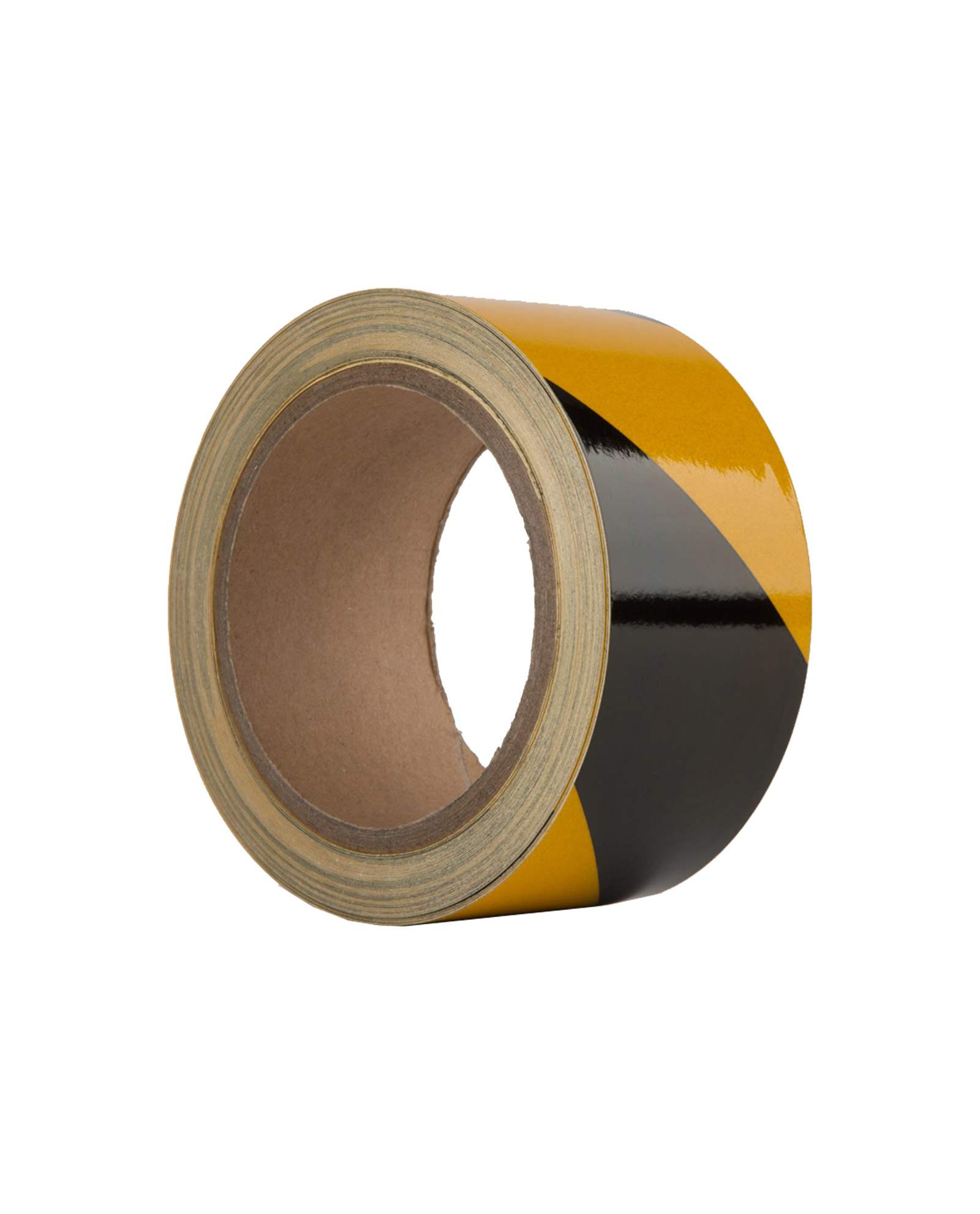 Le Mark Reflective Hazard Tape Black And Yellow Red And White 50mm X 10m 2