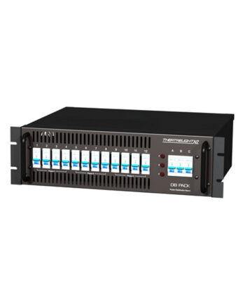 Theatrelight Db Pack 1210 12 X 10a Power Distribution Rack Db Pack