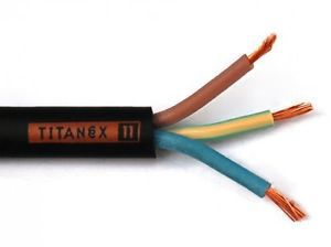 4 Core 2.5mm HO7 TITANEX Nexans Olex Rubber Cable