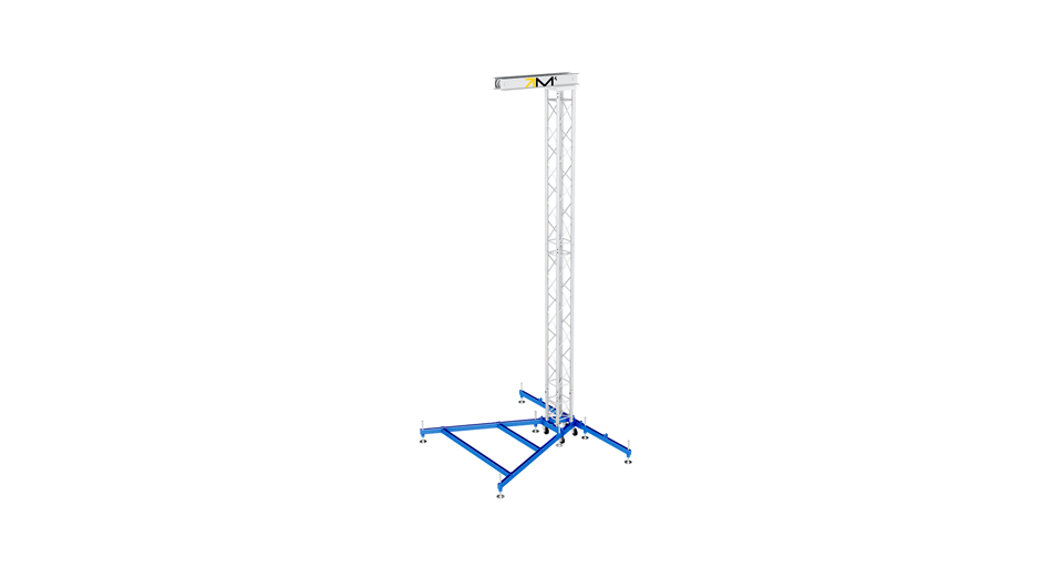 Milos Compact PA Fly Tower