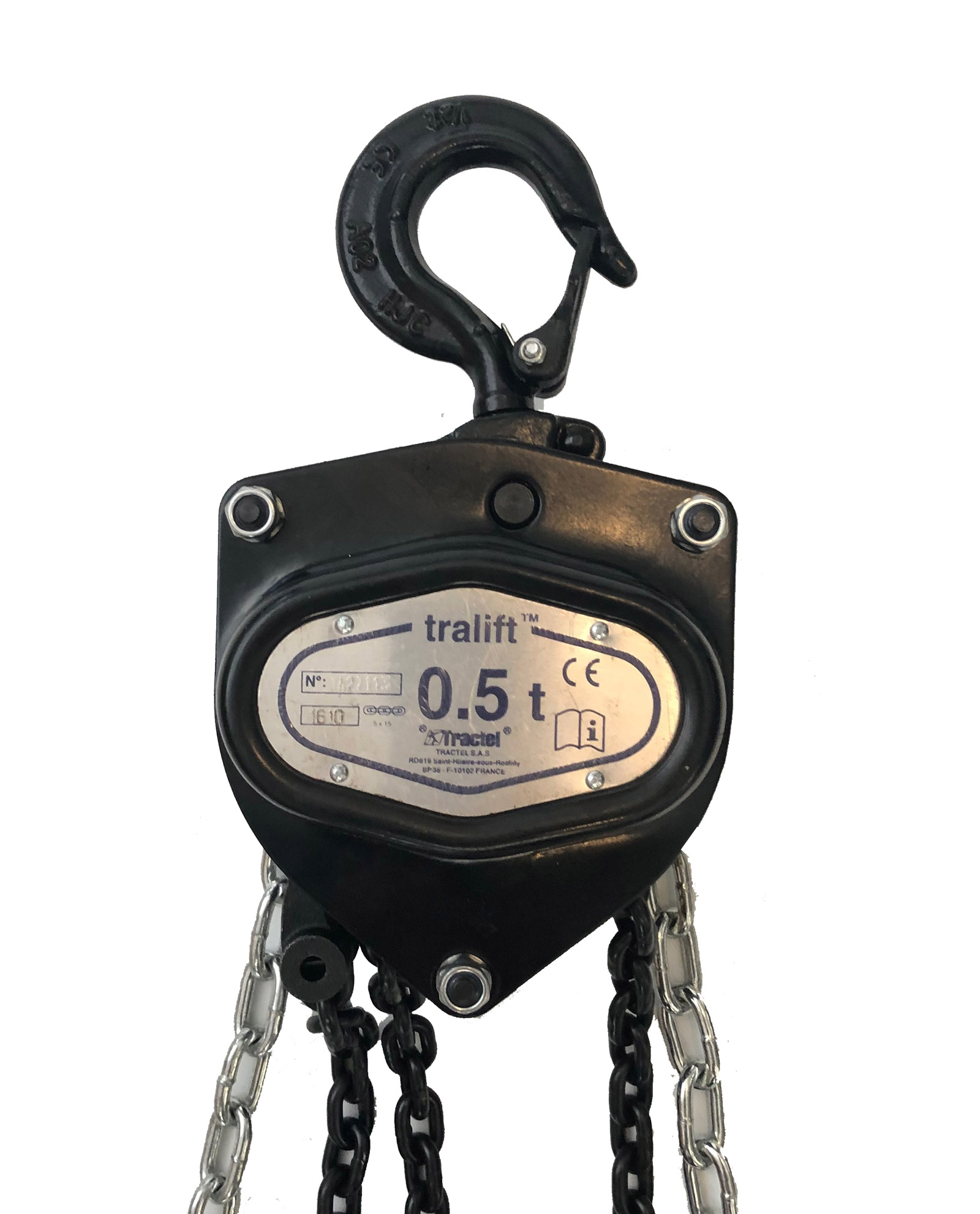 Manual Chain Hoist Chain Block 250kg 500kg Manual Guide