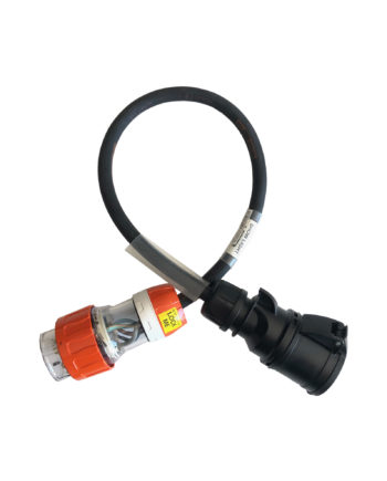 Pdl 32a Plug To 32a Ceeform Adaptor 1m