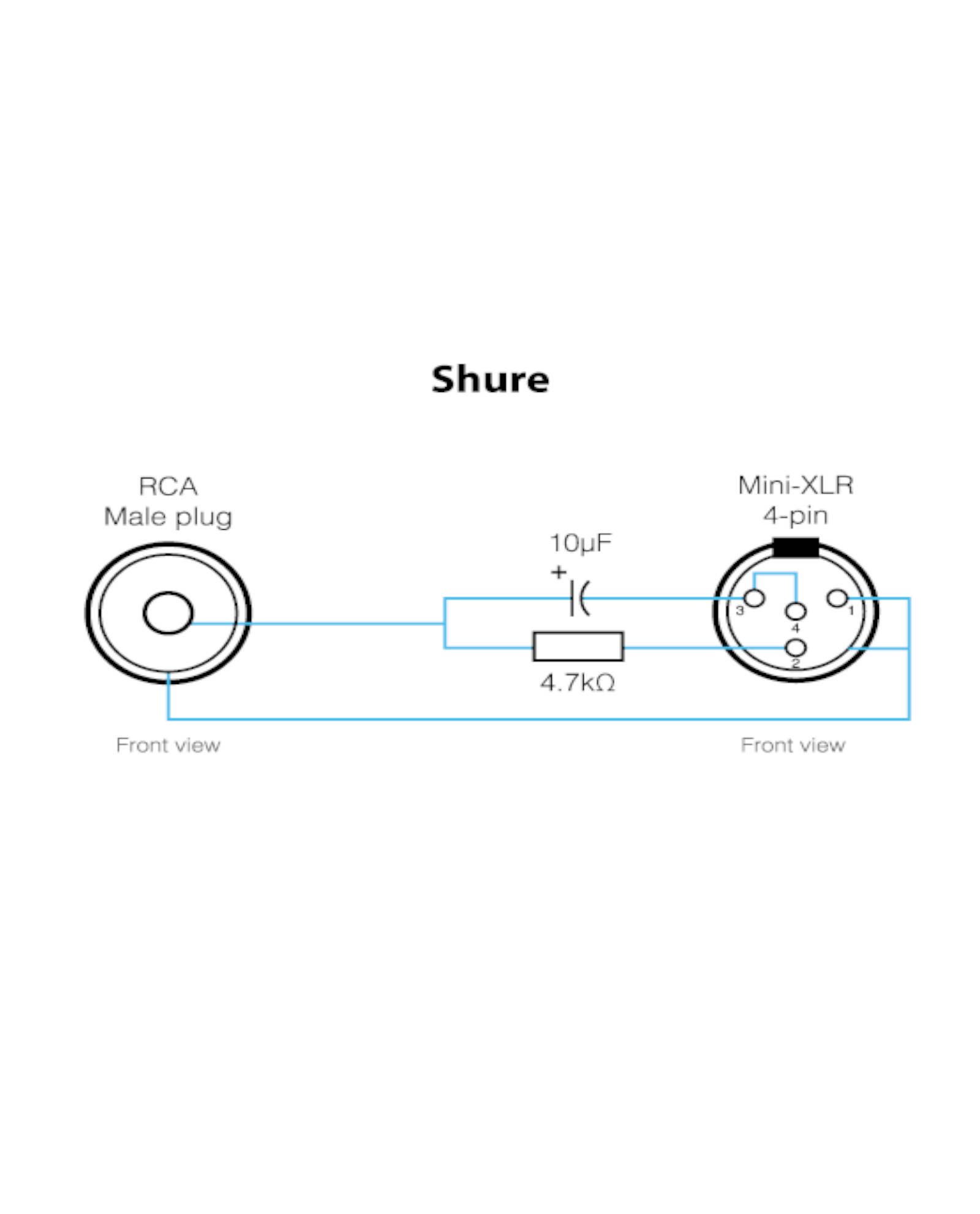 Shure 4 Pin Mini Xlr Wiring Diagram | Wiring Diagram Echo on