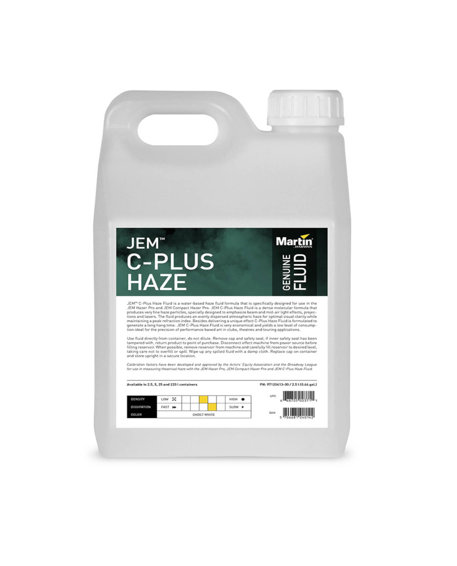 Jem C Plus Haze Fluid