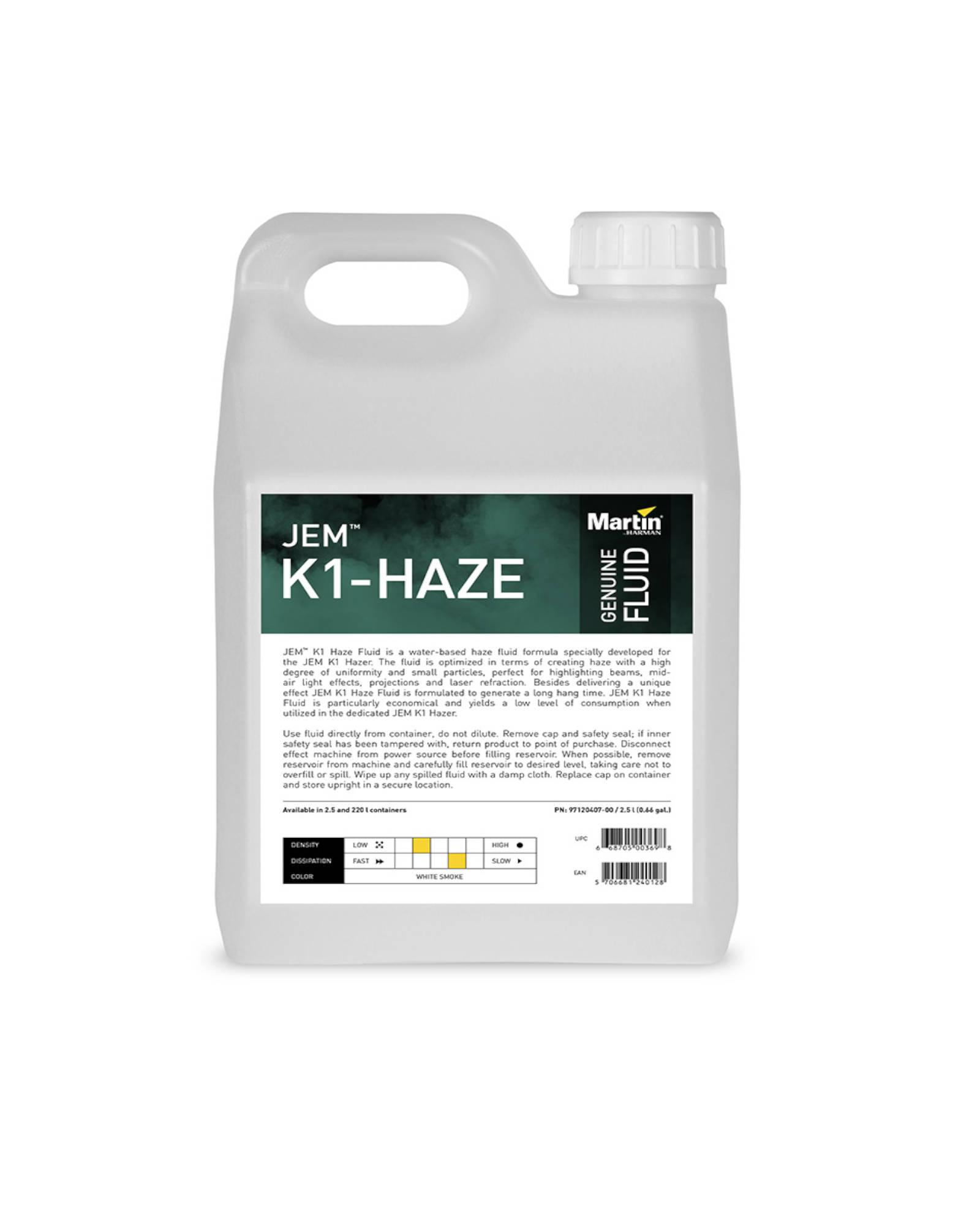 Jem K1 Haze Fluid