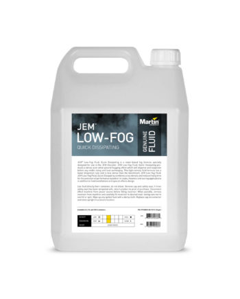 Jem Low Fog Fluid, Quick Dissipating