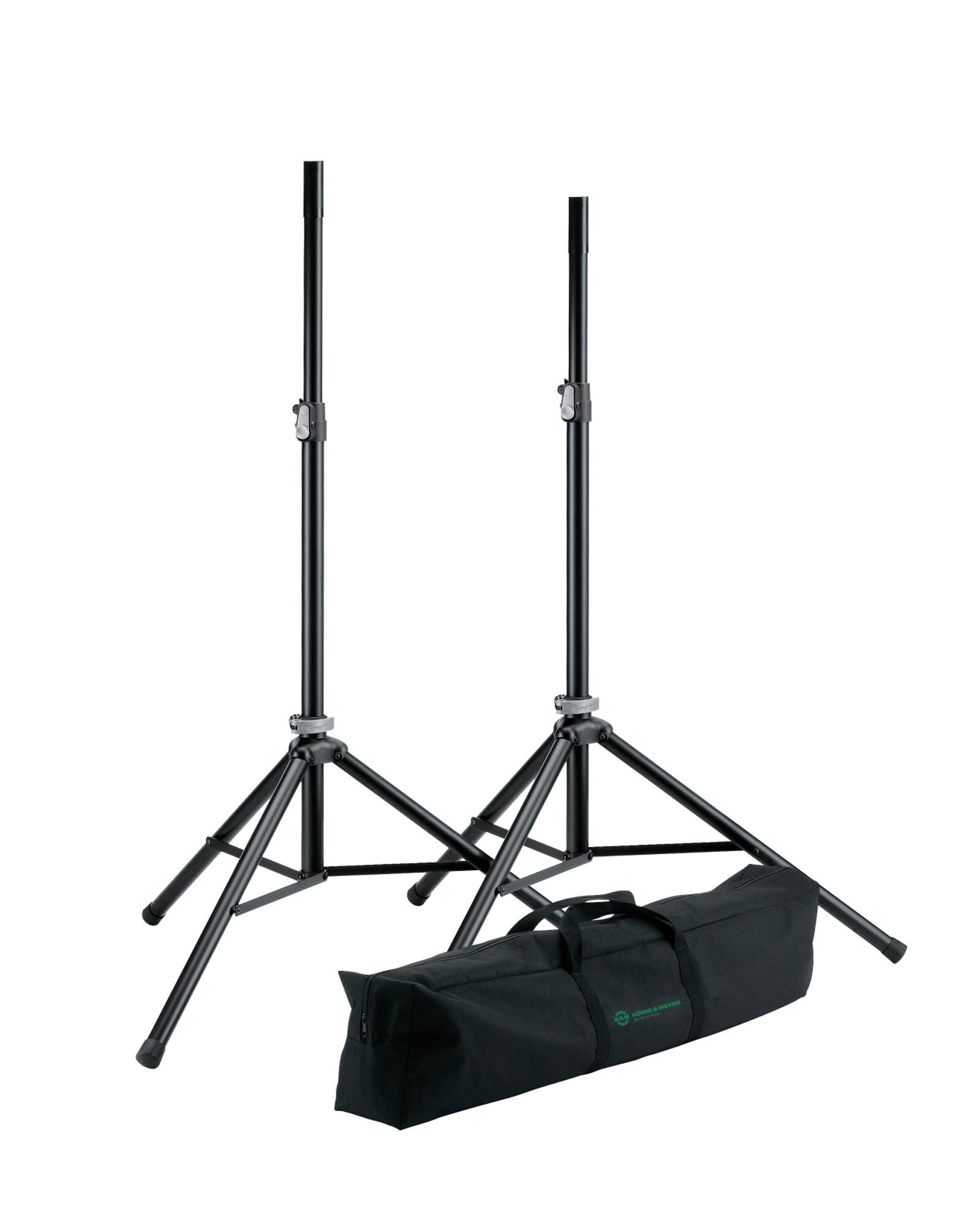 K&m 21449 Speaker Stand Package
