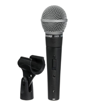 Shure Sm58s Live Vocal Microphone