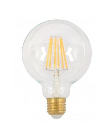 Ge Lighting Led Bulb Heritage G95 7.5 Watt Dim Warm White Es