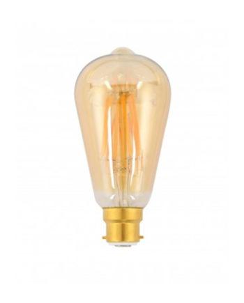 Ge Lighting Led Bulb Heritage Pilot 7.5 Watt Dim Warm White Bc