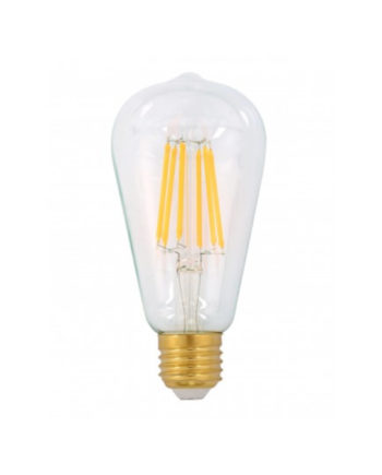 Ge Lighting Led Bulb Heritage Pilot 7.5 Watt Dim Warm White Es Clear
