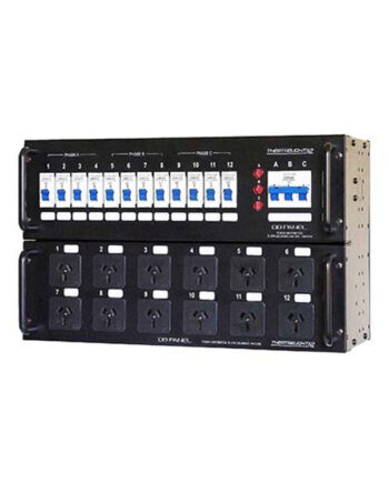 Theatrelight Dbpack P 12 X 10a Power Distribution Rack