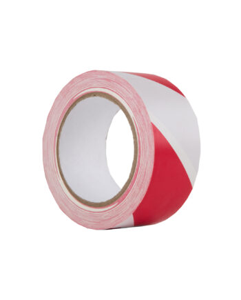 Le Mark Hazard Warning Pvc Tape Red White