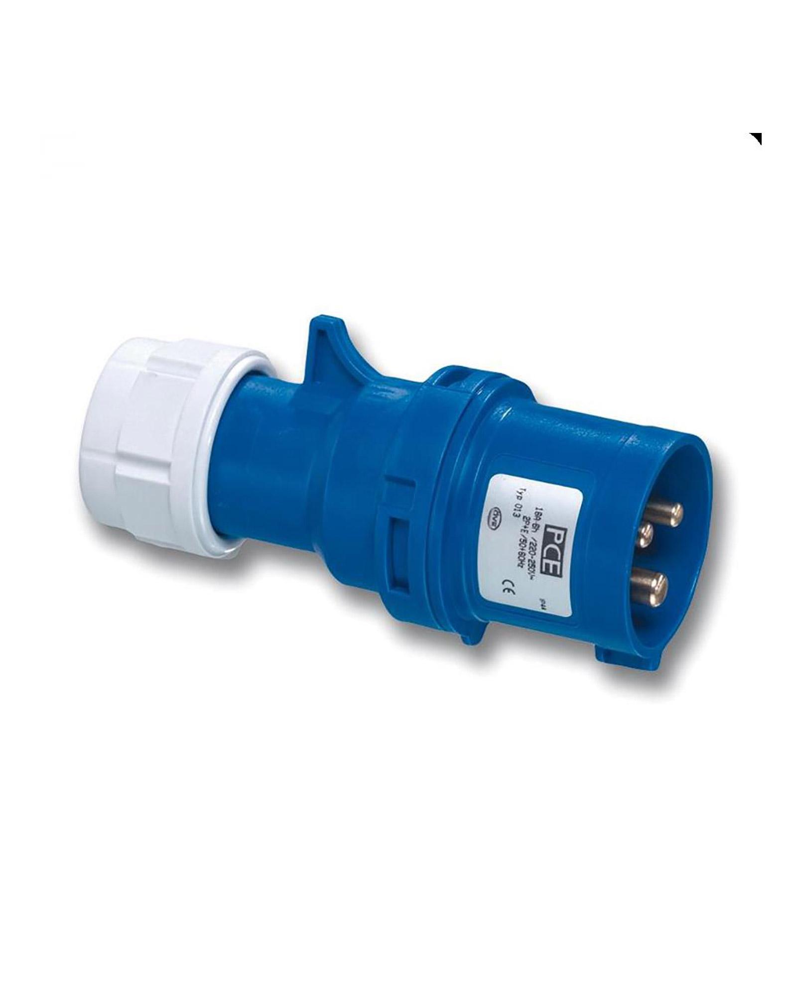 Pce 013 6 16a 3 Pin Plug Ip44