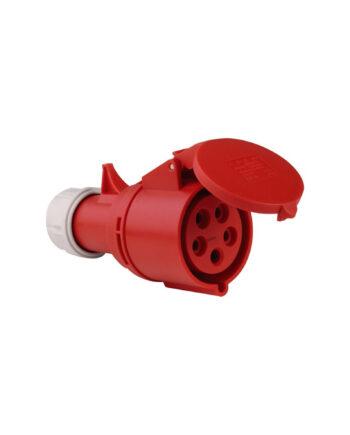 Pce 225 6 32a 5 Pin Socket Ip44