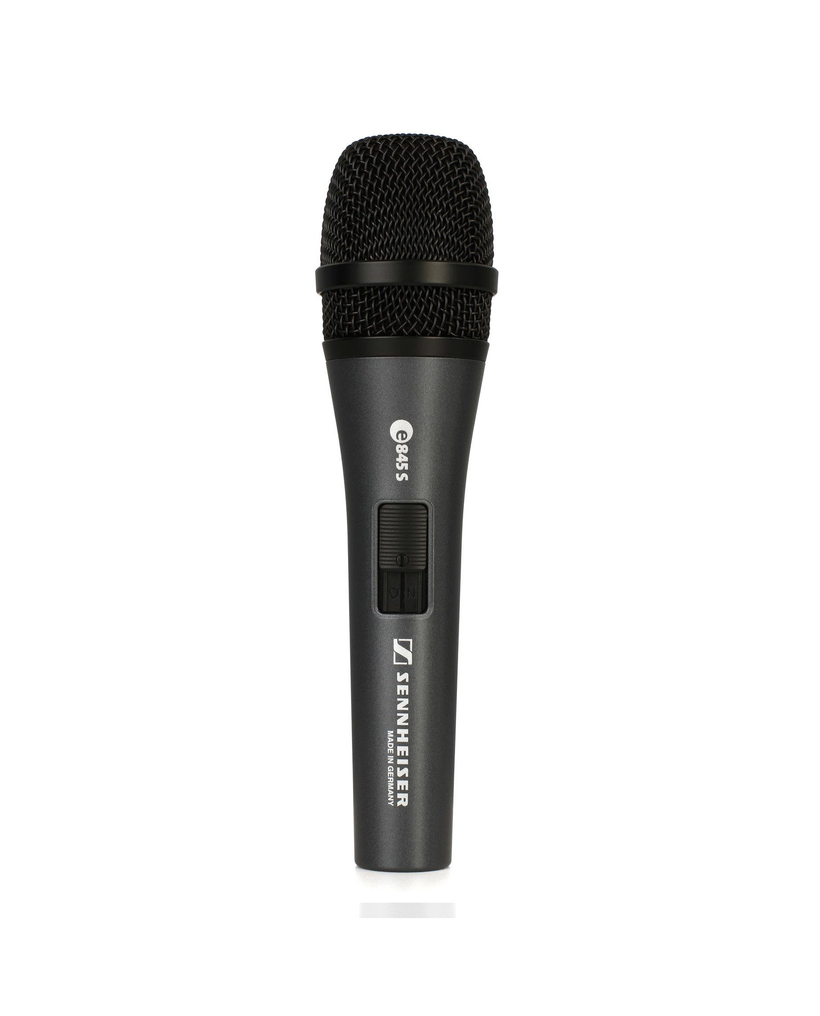 Sennheiser E 845 Vocal Microphone Dynamic Super Cardioid Microphone With Switch
