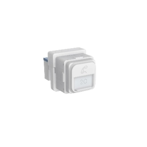 Pdl Iconic Series - Iconic Module Module Telephone Jack 2wire Pdl317m2-tn