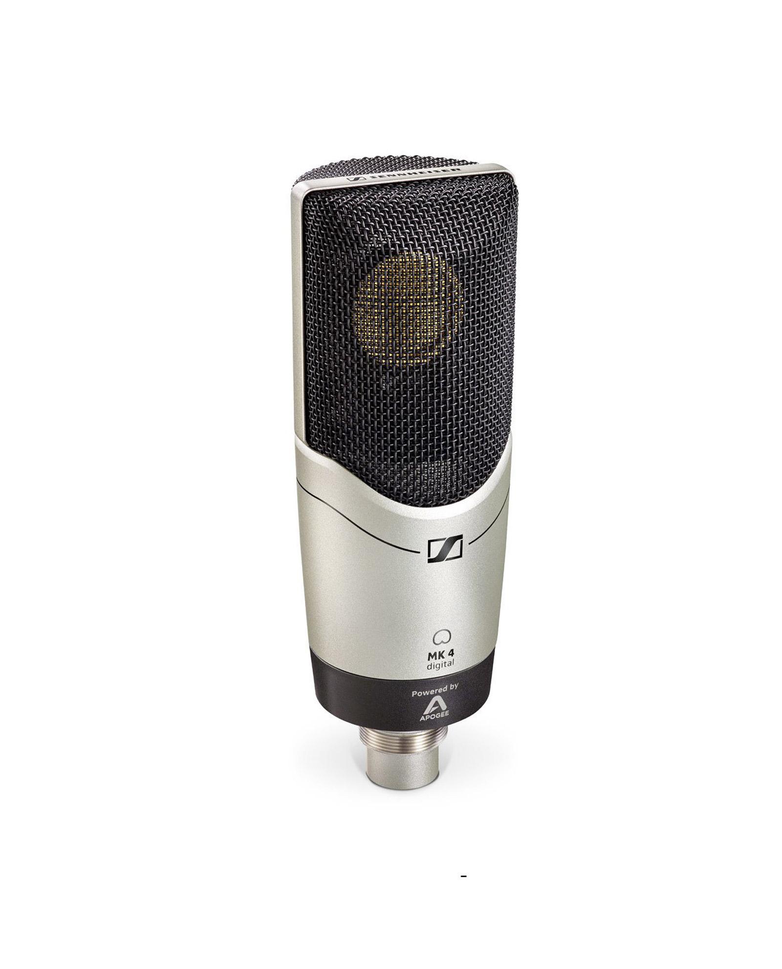 Sennheiser Mk 4 Condenser Microphone For Professional Studio Recordings