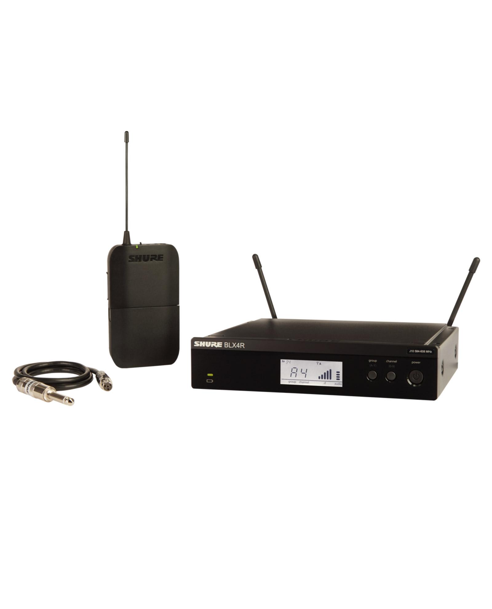 Shure Blx14r Wireless Rack Mount Guitar System 1