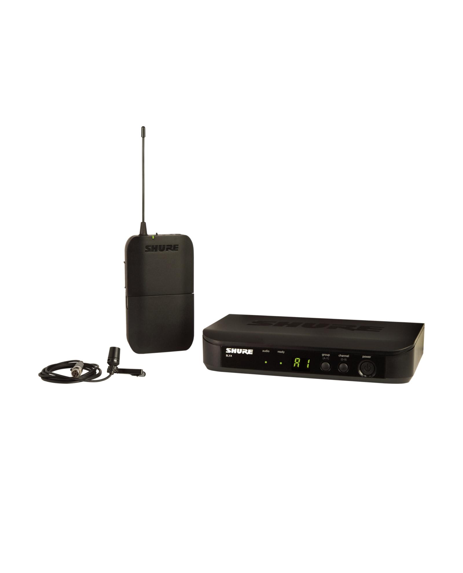 Shure Blx14 Cvl Wireless Presenter System With Cvl Lavalier Microphone 1