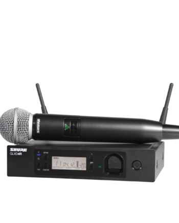 Shure GLXD24R/SM58 - GLX-D Advanced Digital Wireless Vocal System with SM58 Vocal Microphone