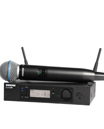 Shure GLXD24R/B58A - GLX-D Advanced Digital Wireless Vocal System with BETA58A Vocal Microphone