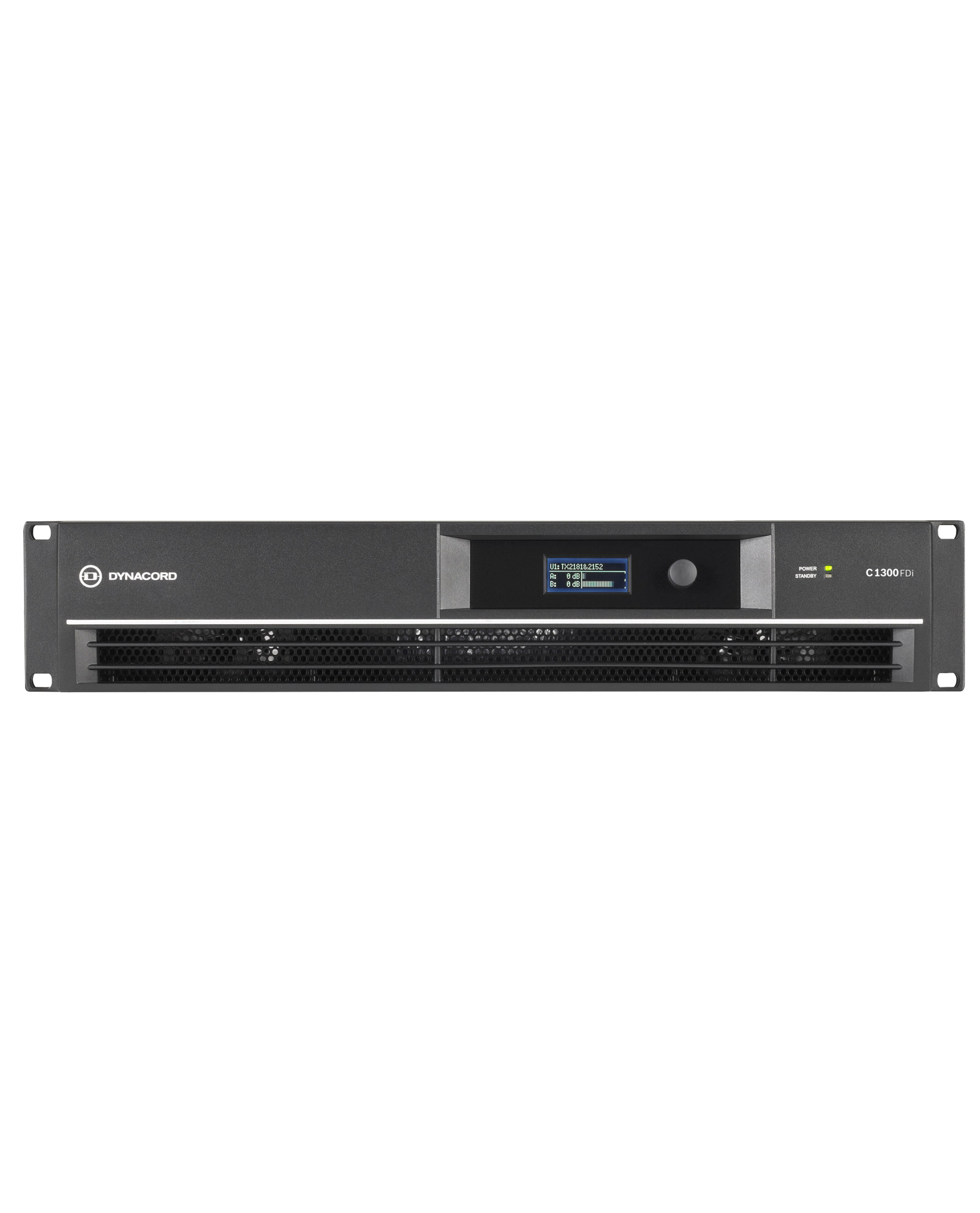 Dynacord C1300fdi Dsp 2x650w Power Amplifier