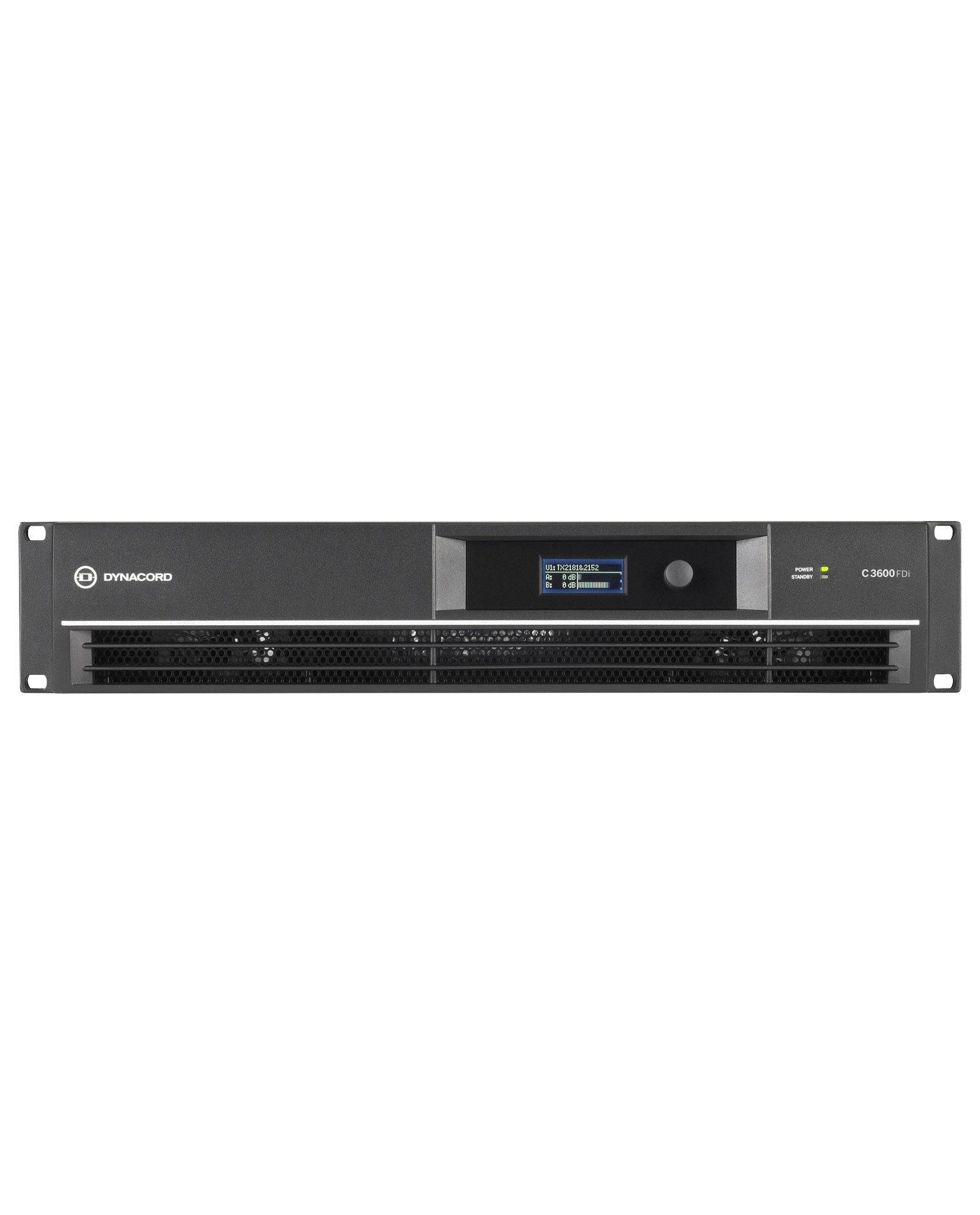 Dynacord C3600fdi Dsp 2x1800w Power Amplifier