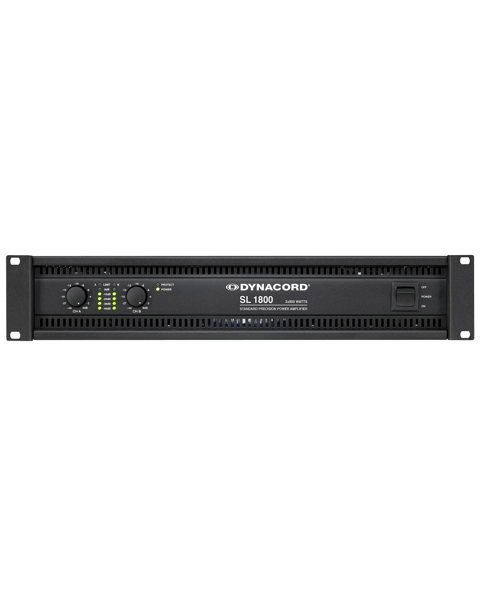 Dynacord Sl1800 2x900w Power Amplifiers 1