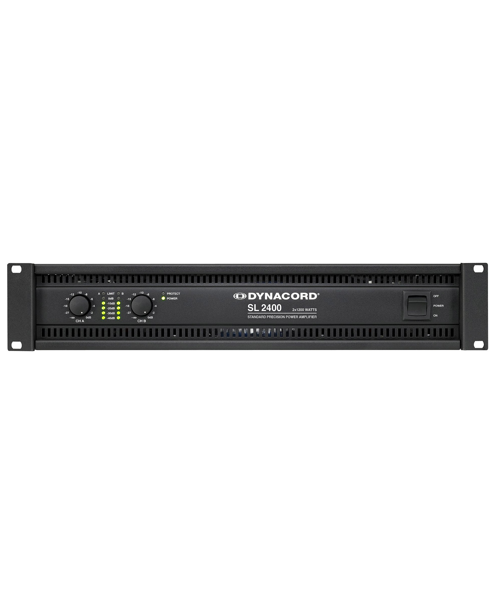 Dynacord Sl2400 2x1200w Power Amplifier1