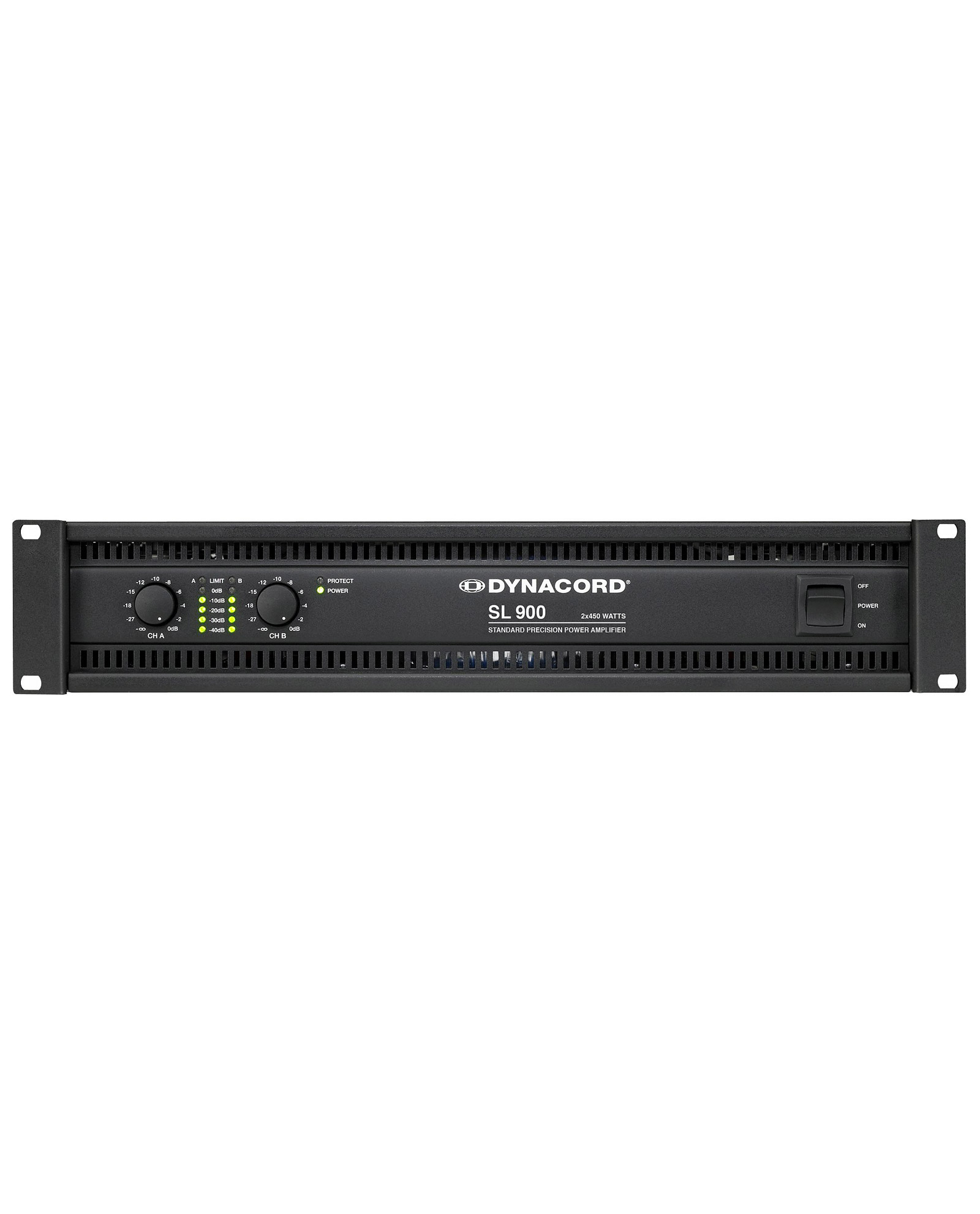 Dynacord Sl900 2x450 Power Amplifier 1