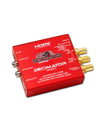 Decimator Design Decimator 2 3g Hd Sd Sdi To Hdmi With De Embedded Analogue Audio