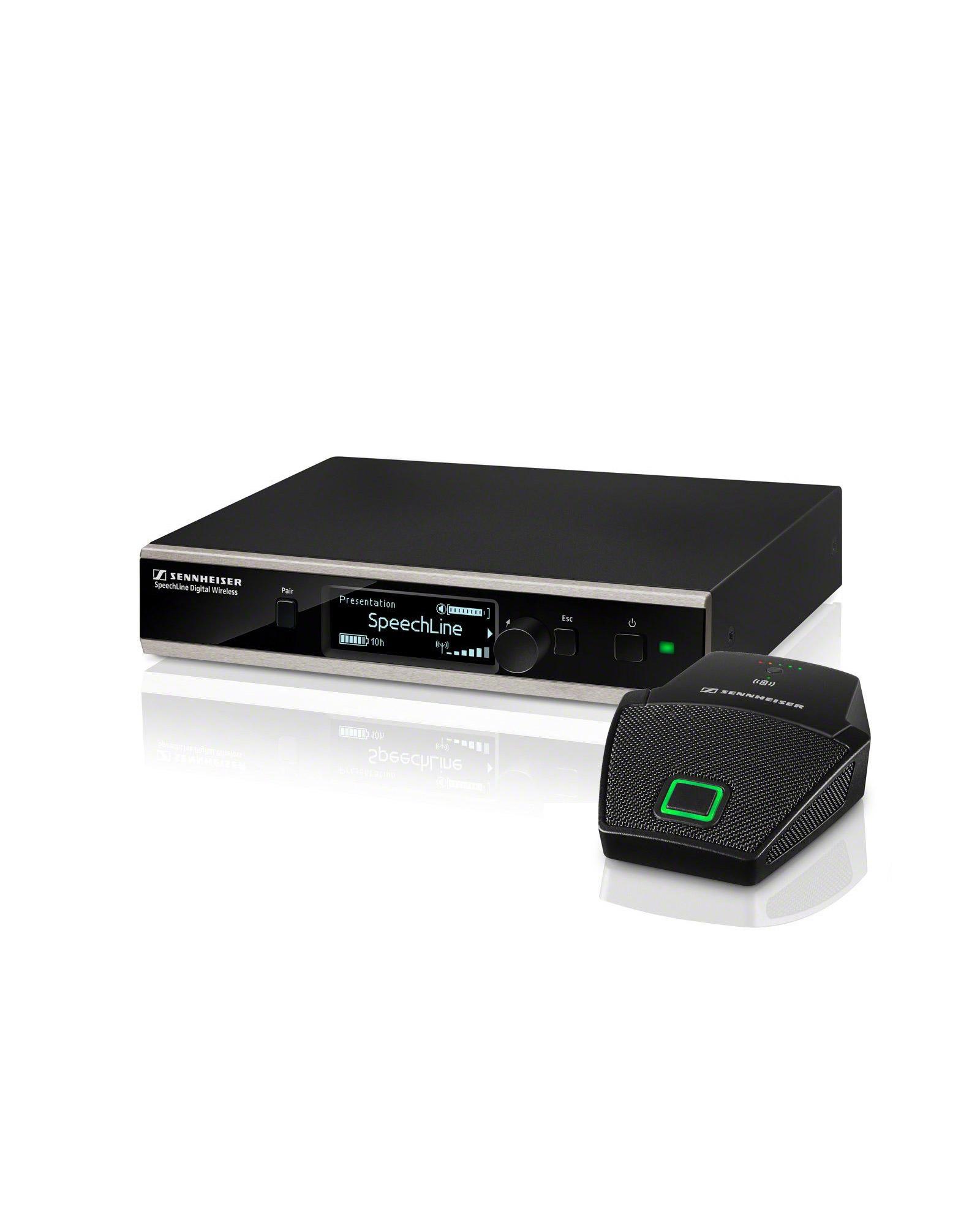 Sennheiser Speechline Boundary Set Dw 3 Wireless Microphone System