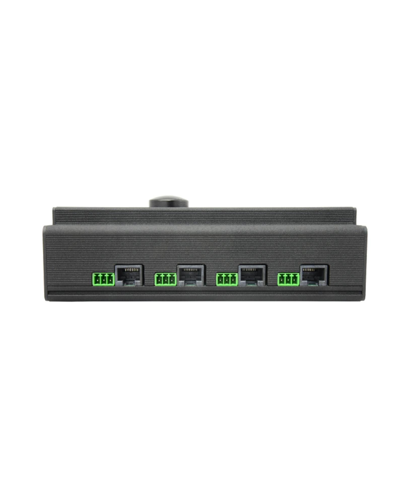 Swisson Xnd 4d 4 Port Din Rail Ethernet Dmx Node 2