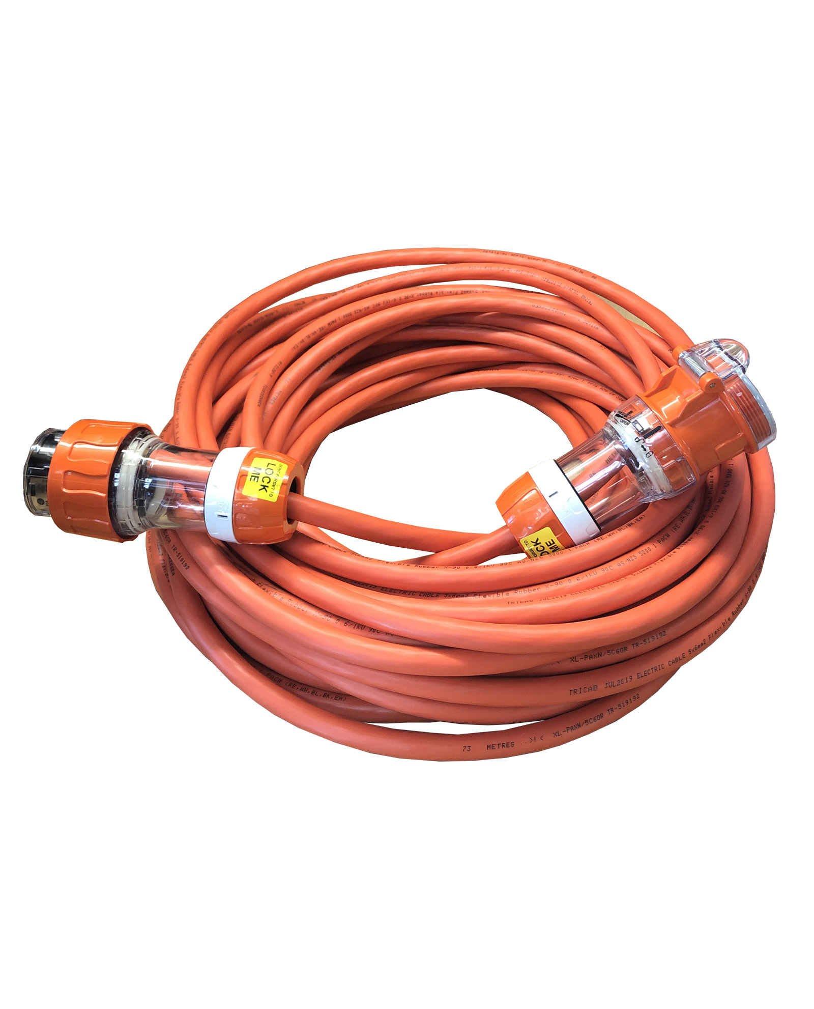 3 Phase Cable Pdl 56 Series Orange