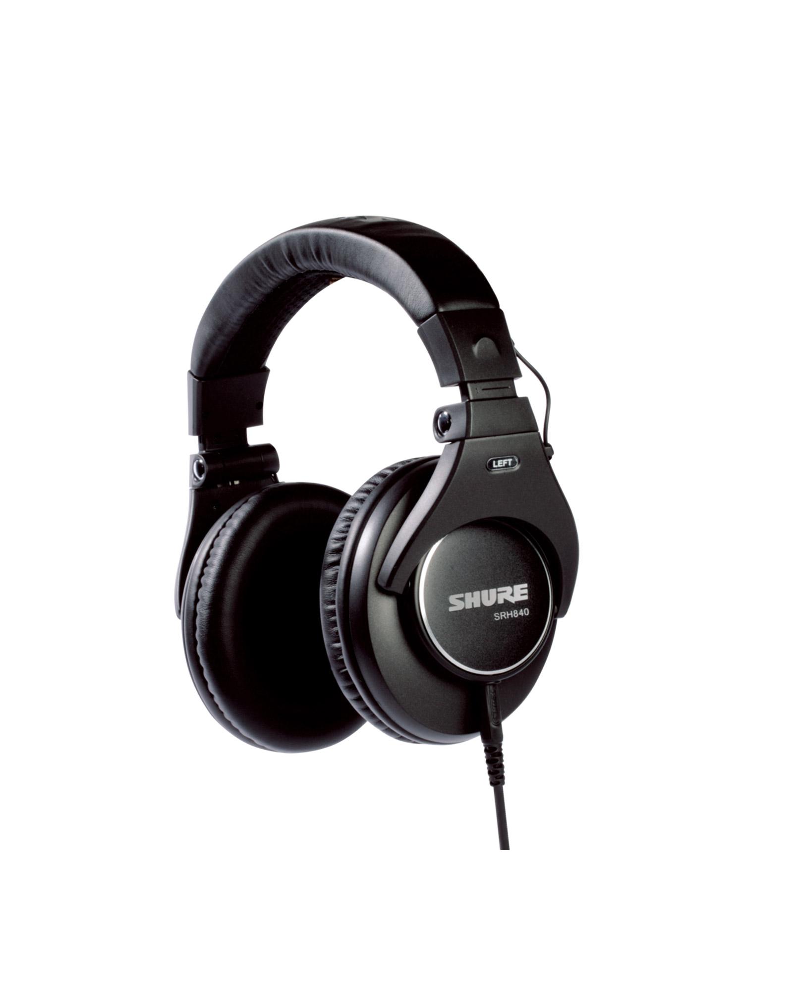 Shure Srh840 Professional Monitoring Headphones 3jpg