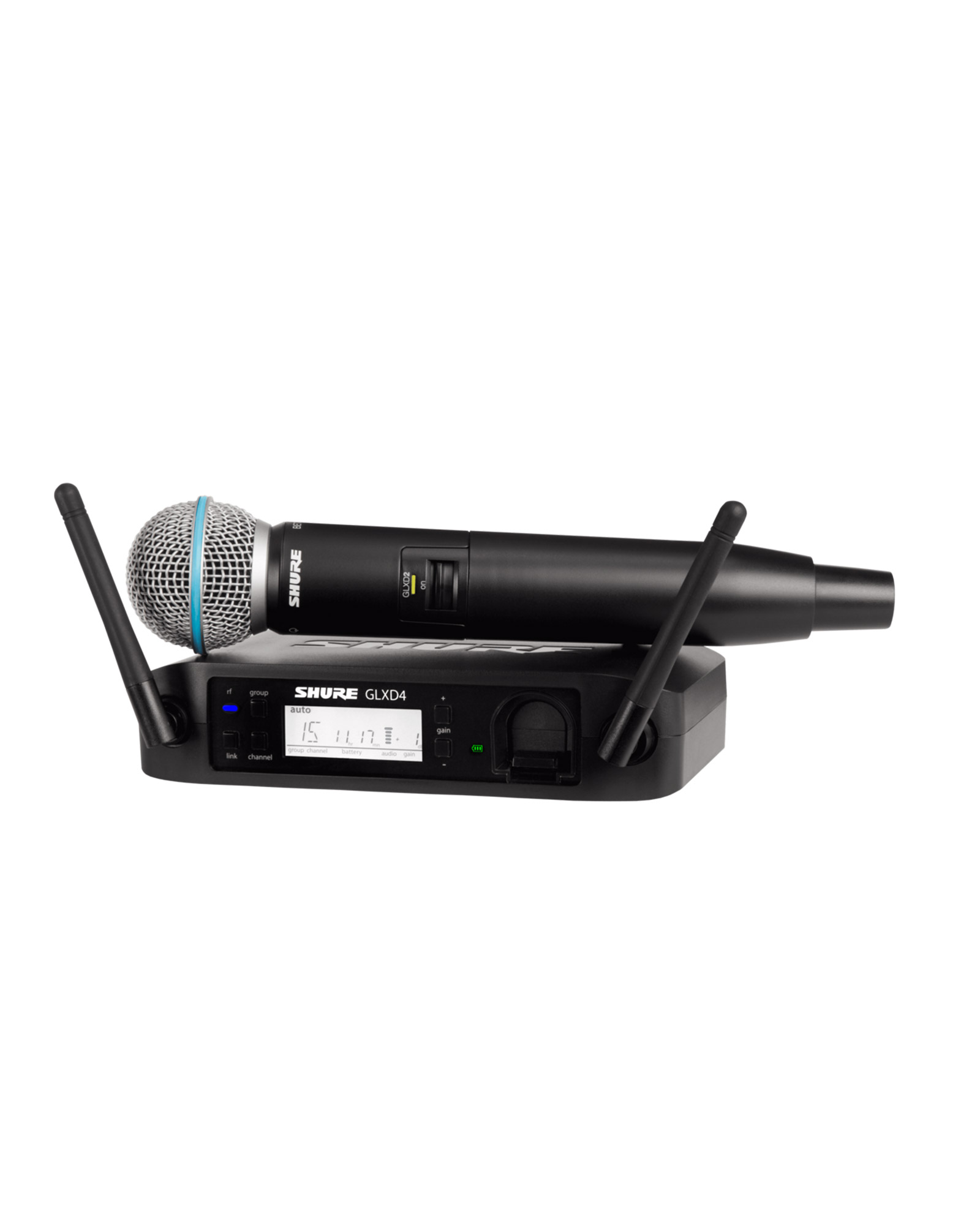 Shure Glxd24 B58a Digital Wireless Vocal System With Beta 58a Vocal Microphone