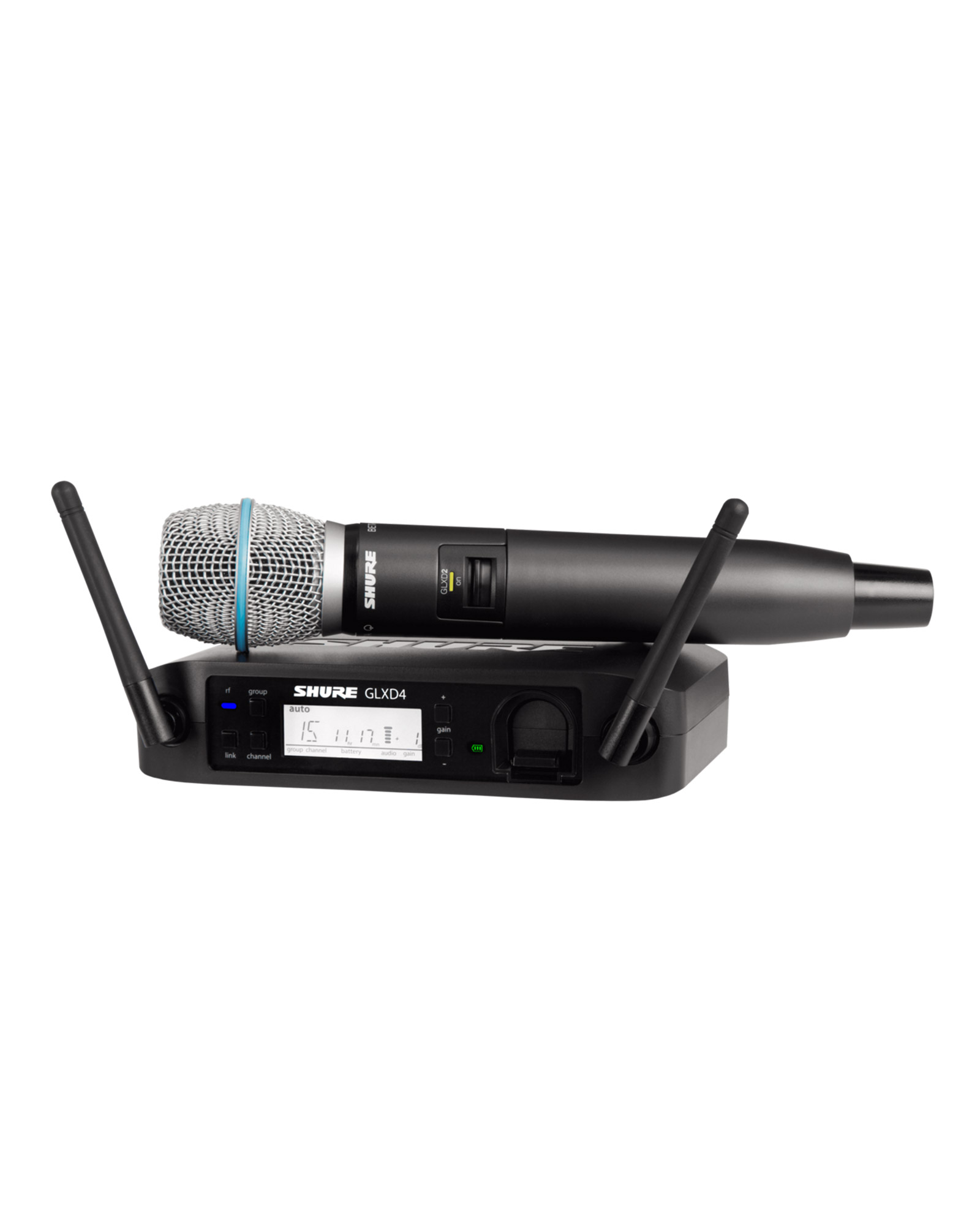Shure Glxd24 B87a Digital Wireless Vocal System With Beta 87a Vocal Microphone