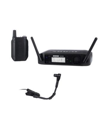 Shure Glxd14 B98 Digital Wireless Instrument System With Beta 98h C Clip On Gooseneck Microphone