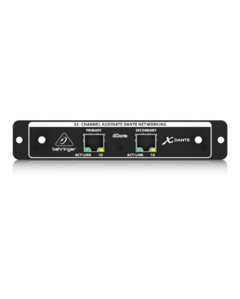 Behringer Xdante High Performance 32 Channel Audinate Dante Expansion Card For X32