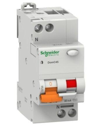 Schneider Standard Rcbo Domain 6ka 30ma