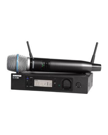 Shure Glxd24r B87a Glx D Advanced Digital Wireless Vocal System With Beta87a Vocal Microphone
