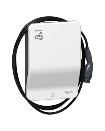 Schneider Electric Evlink Smart Wallbox 22 Kw Attached Cable T2 Key
